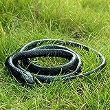 """""""Spécification:  Matériel: caoutchouc souple  Longueur: environ 130cm  Taille du serpent: environ 1,5 cm.  Parce que le serpent est courbé, il y a une erreur de mesure.  Le forfait comprend: 1 x serpent réaliste    Serpent réaliste, sinon attentiveme..."""