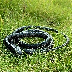 Idea Regalo - Pomcat 130cm Realistico Gomma Simulazione Snake Garden Puntelli Scherzo Scherzo Selvatico Giocattolo Regalo Rettile CJ476