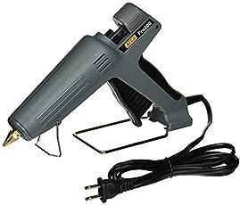 Billionbag Hot Melt Glue Gun Kit 40 Watt, High-Tech Electronic PTC Heating Technology, Black (15 Hot Glue Gun Sticks Included, Professional Use)