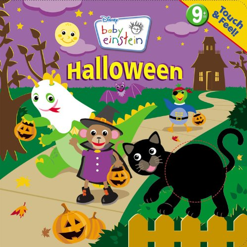 and Feel Halloween (A Touch-and-feel Book) (Halloween Baby Einstein)