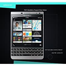 Blackberry Passport Glass película, [HS-TOP] ® Nillkin antiarañazos Screen Protector 9H 0.33mm película Anti-Explosion el vidrio templado película de protección para BLACKBERRY PASSPORT (Only for passport Silver Edition) (H)