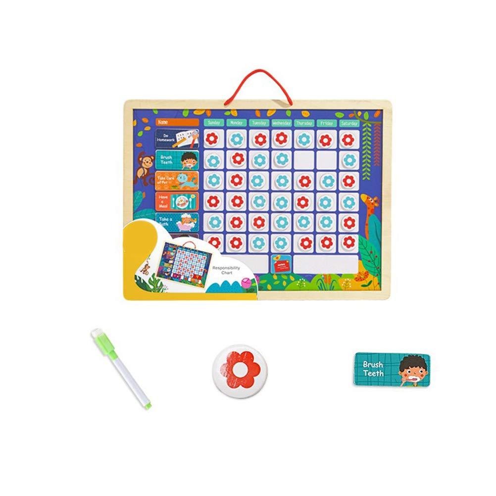 Calendario Legno Bambini.Stobok Calendario Bambini Magnetico Tabella Ricompense In Legno Giochi Legno