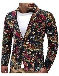 FRAUIT Floral Anzug Winterjacke Herren Mantel Slim Fit Stilvolle Blazer Kleid Junge Männer Anzug Mantel Sweatshirt Pullover Oberteile Bomberjacke Pullover Jacke Bluse Tops Outwear