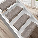 """Floordirekt 15 Stück Preiswerte Stufenmatten """"London"""" halbrund und rechteckig in 11 Farben (eckig, beige, groß)"""