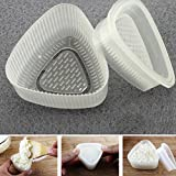 2PCS triangolo forma sushi Mold onigiri Rice Ball Bento Press Stampista DIY Tool Kitchen Accessories