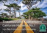 Traumstraße Kaliforniens - California Highway No.1 (Tischkalender 2019 DIN A5 quer): Impressionen vom bekanntesten und schönen Highway Kaliforniens. (Monatskalender, 14 Seiten ) (CALVENDO Orte) - Thomas Marufke