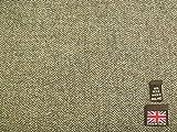 100% Wolle Shetland Tweed Fischgrätstoff AZ51