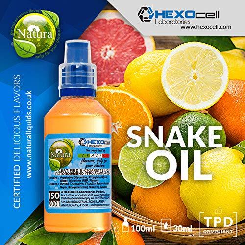 E LIQUID PARA VAPEAR - 30ml Snake Oil Frutas cítricas