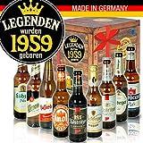 Legenden 1959 - DDR Bierbox - Jahrgang 1959 Geschenk