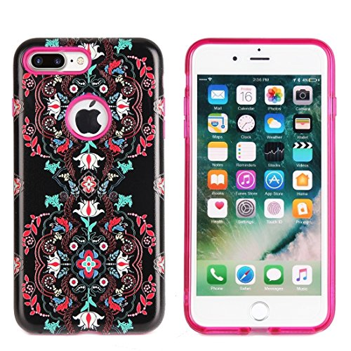 Hülle für iPhone 7 plus , Schutzhülle Für iPhone 7 Plus TPU + PC Relief Kombination Fall ,hülle für iPhone 7 plus , case for iphone 7 plus ( SKU : Ip7p1232f ) Ip7p1232d