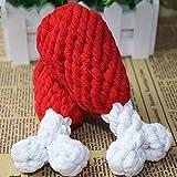Da.Wa Mini Zahnbürste Form Hund Kaut Hundespielzeug Sprachspielzeug,Gummi,Zufall Farbe - 3