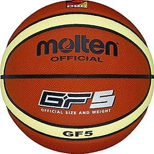 Molten Basketball BGF5, ORANGE/CREME, 5