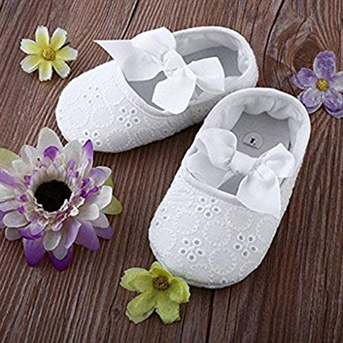 Band schl眉pfen Bowknot Baby Flower LUFA Schuhe Prewalker wei s眉脽en Sole Cotton xtEqd0w4n0