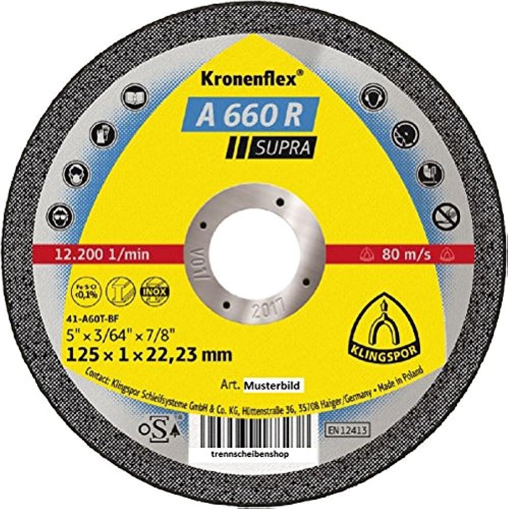 50 x Flexovit Klettschleifscheiben 125 mm ohne Loch K 80 Holz Metall Made in E.U