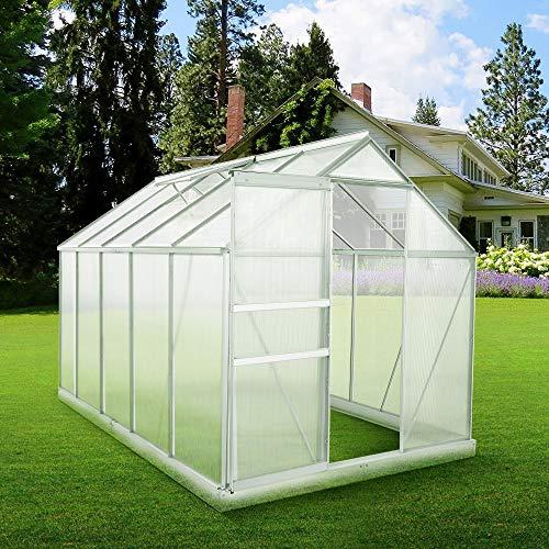 Zelsius Aluminium Gartengewächshaus - 4