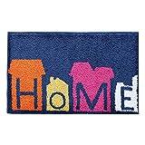 HETAO Kreativ Briefmatten Rechteck Türmatten Fußpolster Schlafzimmer Küche Bad Wohnzimmer Dekorative Matten 45 ~ 80 cm , 45*65cm , love to go home