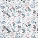 Fabulous Fabrics Waffelpiqué Baumwollstoff Federn –