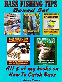 Bass fishing tips boxed set all 5 of my books on how to for How to catch bass fish