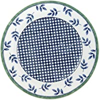 Villeroy & Boch Switch 3 Castell Frühstücksteller, aus ansprechendem Hartporzellan, 21 cm Teller, Porzellan, Blau