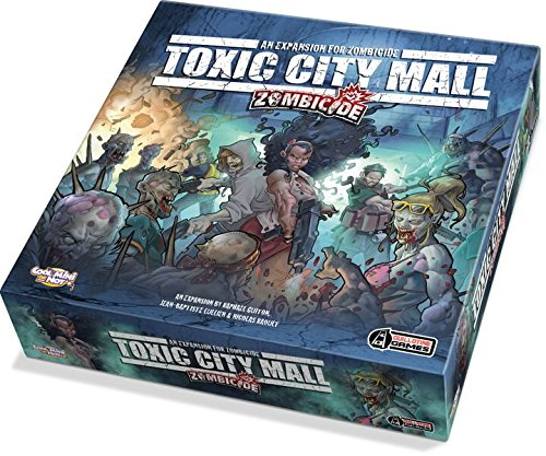 Guillotine Games GUG0014 - Spiel - Zombicide - Toxic City Mall - Englisch