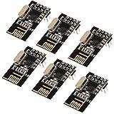 Muzoct 6x NRF24L01+ 2,4 GHz Wireless RF Transceiver Modul für Arduino