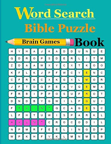 Word Search Bible Puzzle Book: Word Search Puzzle Books For Adults & Teens por pichaya bent