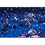 300 piece jigsaw puzzle Simple Style Snow in Shirakawa-go Gifu Japann (26x38cm) by Yanoman