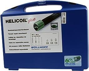 HeliCoil plus Reparatur-Sortiment M5, M6, M8 Regelgewinde; 162 Teile