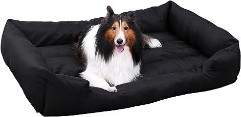 SONGMICS Luxus Hundebett Hundekissen Oxford Gewebe mit unten einen Anti-Rutschboden Farbe Größe auswählbar