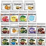 Tassimo alle Deutsche Sorten Set, Tassimo, Kaffee, Kaffeekapsel, 17 x 16 T-Discs
