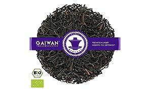 "Núm. 1138: Té negro orgánico ""Ceylon Highgrown FOP"" - hojas sueltas ecológico - 250 g - GAIWAN® GERMANY - té negro de la agricultura ecológica en Ceilán"