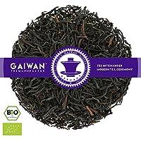 """N° 1138: Thé noir bio""""Ceylan Highgrown FOP"""" - feuilles de thé issu de l'agriculture biologique - 100 g - GAIWAN GERMANY - thé noir au Ceylan"""
