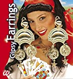 GIPSY EARRINGS PAIR 1 of 6 styles for Circus Fortune Teller Accessory
