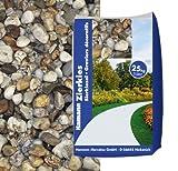 Hamann Quarzkies 2-5 mm 25 kg - Mit Zierkies und Gartenkies können Sie Ihren Garten indiviuell gestalten