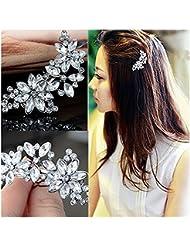 Cn /_ Blume Haarnadel Klemme Dekor Damen Haarspange Haar Accessoires
