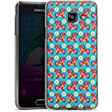 Samsung Galaxy A3 (2016) Housse Étui Protection Coque Fleurs Fleurs Cheval