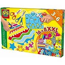 SES Creative - Aprendo a usar tijeras, kit de juego, multicolor (14828)