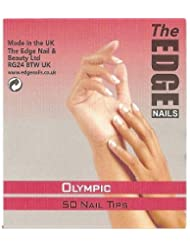 The Edge Olympic Nail Tips Size 9 (50) - 2017309 by The Edge
