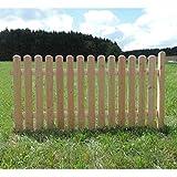 Holz Zaunelement Länge: 185cm - Anbauelement - Douglasie - 4090/42 DO