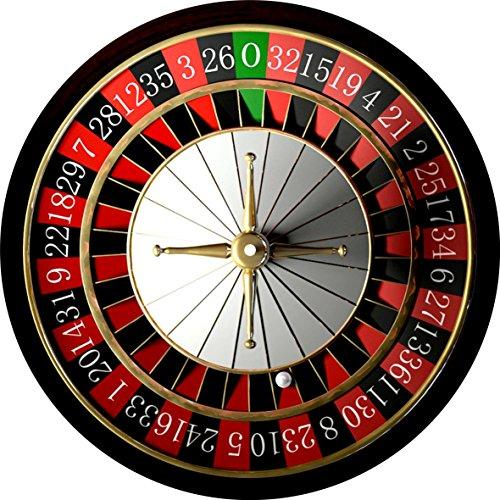 Slipmat Roulette TOPKAUFMUNICH© - Kein echter Roulette-Tisch - Plattentellerauflage im Look Roulette