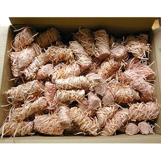 Amafino Feuer Anzünder 350 Stück Kaminanzünder Ofenanzünder Holzwolle und wachs