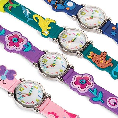 Timers Diversión - Colorido 3D reloj pulsera diseño