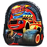 Blaze and Monster Machines Wheel School Pre-Scolar Backpack Lunchbox Nursery School