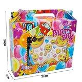 Emoji Themed Party Geschirr Set - Hanmun KK17...Vergleich