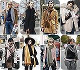 Damen Herbst Winter Warm Schal Neue Kollektion Leichter Langschal Loop Schlauchschal Tuch Viele Farben