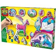 SES 01155 - Juego para modelar y pintar caballos [importado de Alemania]