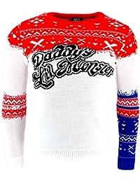 Harley Quinn DL Monster Premium Knitted Navidad Saltador Official Con licencia