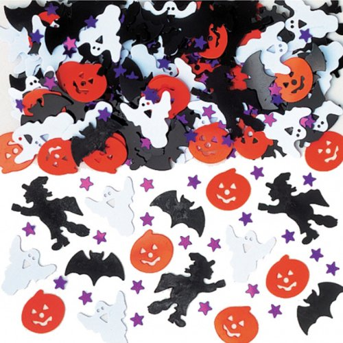 36702 Konfetti hell Halloween Night Dekoration Set (Halloween Tischdeko)