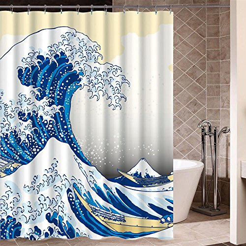Art Shower Curtain: Amazon.co.uk