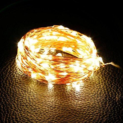 oo 9.8ft/3M 60LEDs, Dekoration Wand-Lichter, wasserdicht Lichter die Sequenz für Hochzeiten, Partys, außen, Haus, Deko Urlaub Weihnachten (Lichter Für Die Dekoration)